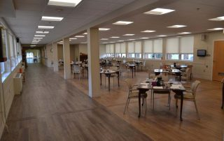 Renovated Burney Dining Room